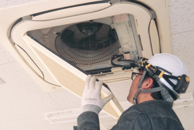 公共・商業施設等の空調設備工事